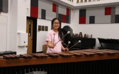 Coppell senior Lily Lee plays percussion instruments in the CHS band. As the senior class president, has taken on various leadership positions throughout high school and will be attending Northwestern University in the fall.