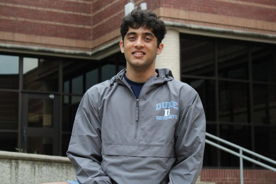 Coppell High School senior Neil Upreti is ranked No. 4 in the graduating class of 2021. Upreti will be attending Duke University in the fall and majoring in bioengineering.