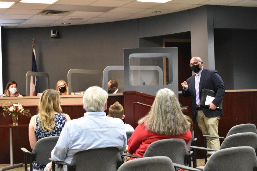 Board approves Joseph Smith as New Tech @ Coppell principal