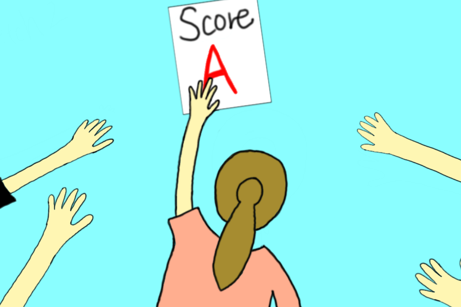 """Many people strive for """"perfect grades"""" as a confirmation of their intelligence. However, The Sidekick daily news/assignment editor Anjali Vishwanath believes intelligence is independent of grades."""