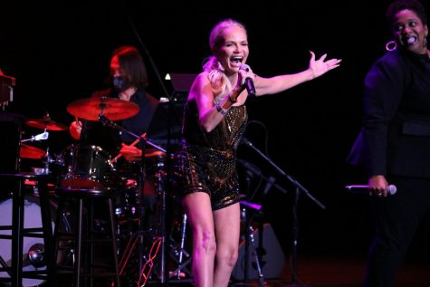 Emmy and Tony Award-winning actress and singer Kristin Chenoweth performs her album For the Girls in concert at the Coppell Arts Center on Saturday. The Takeoff Music Festival officially opens the arts center as a performance and entertainment venue for Coppell residents.