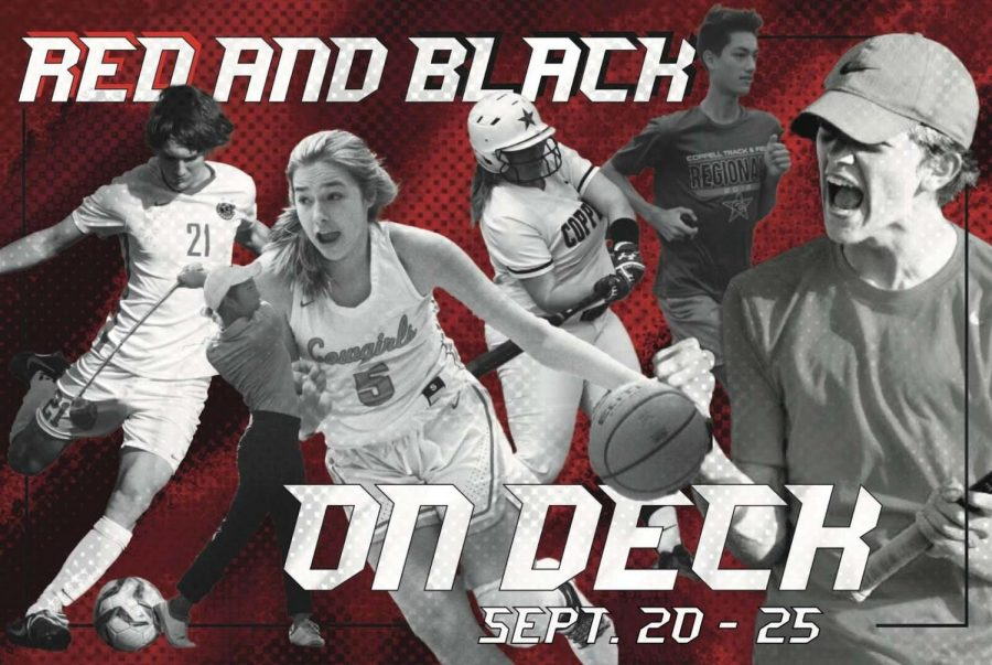 Red and Black on Deck is a Sidekick series detailing the next week of Coppell varsity sports. It will be posted every Monday.