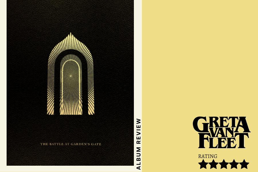 """American rock band Greta Van Fleet released its latest album, """"The Battle at Garden's Gate"""", on April 16, its first music release since winning a Grammy in 2018. The Sidekick staff writer Olivia Short writes about how the album presents a revival of 1970s rock with a modern twist."""