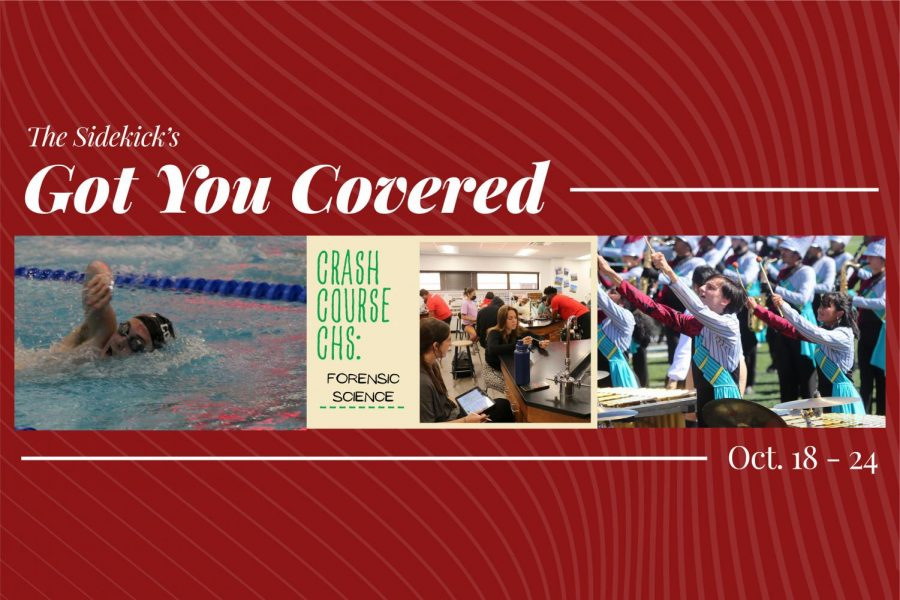 Got You Covered:  10/18 – 10/24