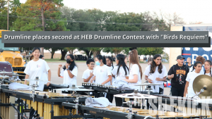 """Varsity drumline takes second at HEB Drumline Competition with """"Birds Requiem"""" (with video)"""