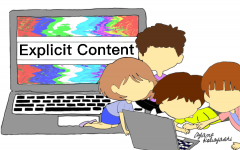 Technology allows younger generations easy access to explicit content, which can affect maturity. The Sidekick thinks this increased exposure shapes growth and learning negatively.