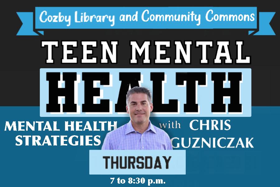Guzniczak to speak about teenage mental health